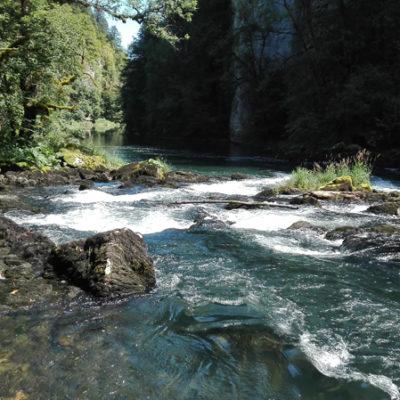Le Doubs sauvage<br>Der ungezähmte Doubs